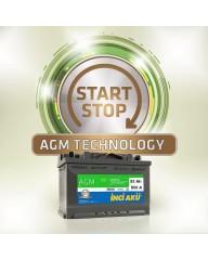 90 Amper Start Stop İnci Akü - AGM